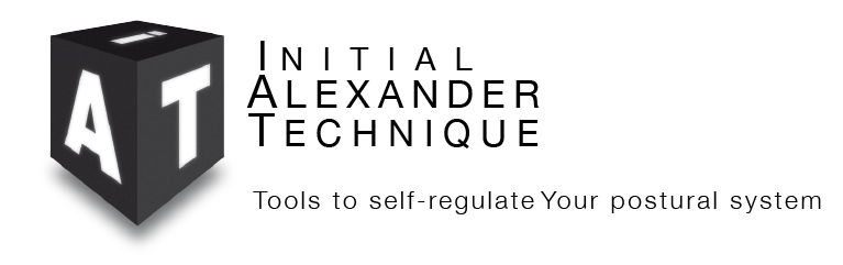 initial Alexander technique Textbook Logo
